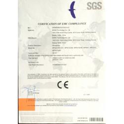 "MP418 1/4"" prepolarized IEC61672 Klasse1 microfoon"