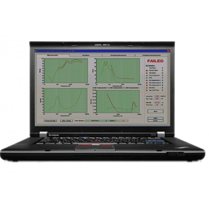 2-ch noise testing module with freq analyse, mechanic vibr, speed/displacement meas, human weighting