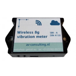 Wireless Trillingsmeter...