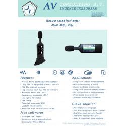 Schallpegelmesser MEMS class-1