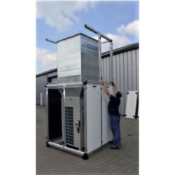 Acoustic enclosure heat