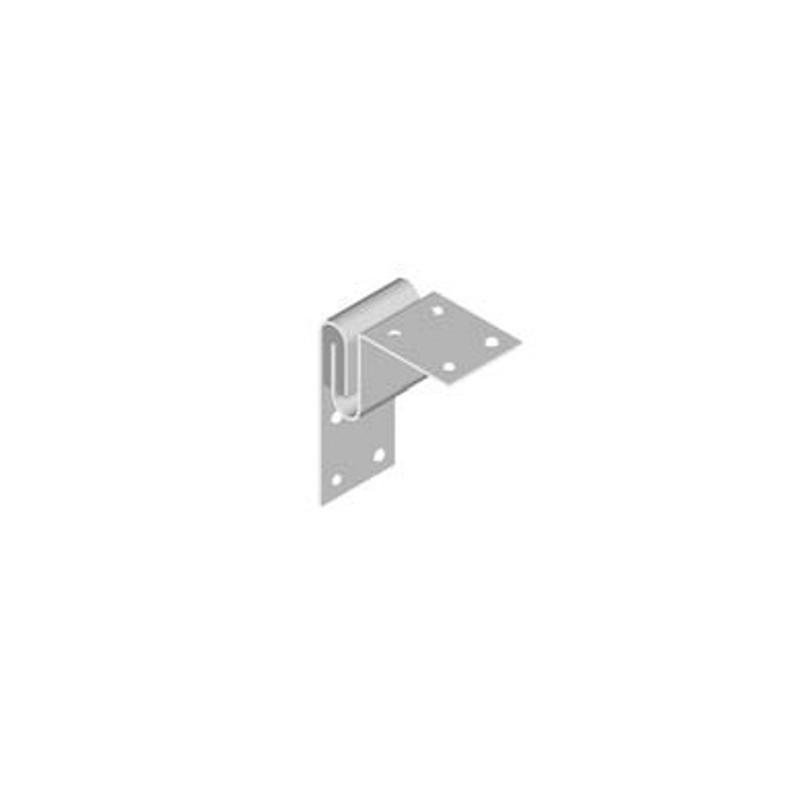 Hoek: hout/metselwerk RVS