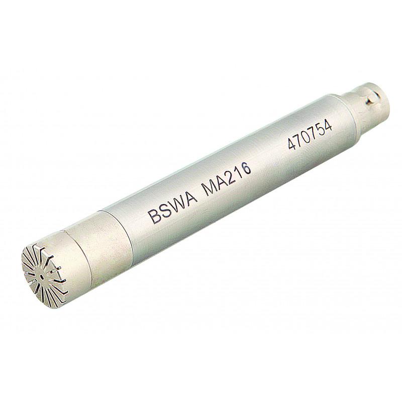 """1/2"""" microfoon MP216 + ICP voorversterker MA231, IEC61672 Klasse 2"""