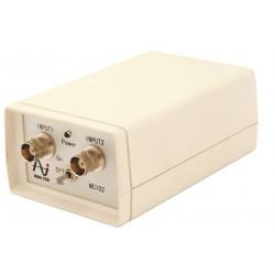 2-kanaals ICP voeding met 9v batterij