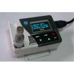 Dosimeter met 1/4 inch microfoon +2GB intern geheugen +1/3 OCT