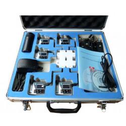 5x Dosimeter met 1/4 inch microfoon + Kalibrator