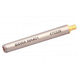 "1/4"" ICP Microfoon voorversterker, SMB connector, tbv MP401"