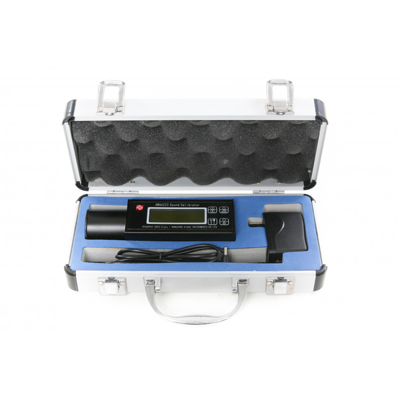 Kalibrator geluidsdruk variabel IEC61672 Klasse1