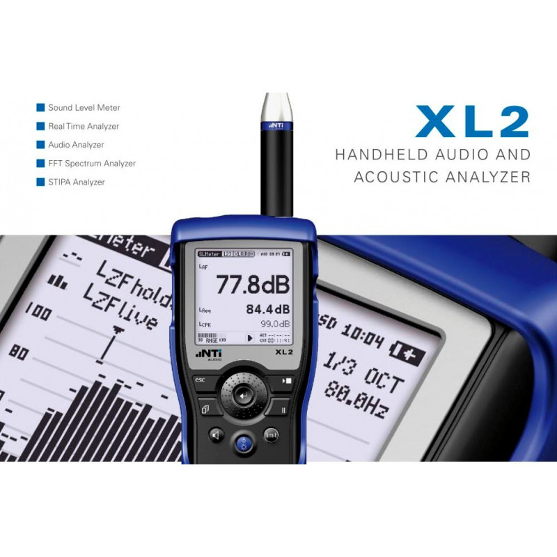 XL2 Speech Intelligibility STIPA